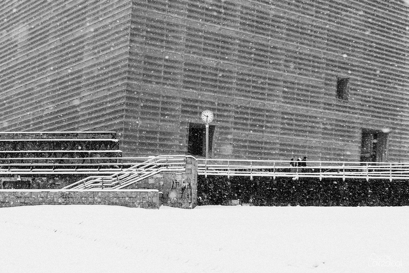 Nieve en Donostia San Sebastián