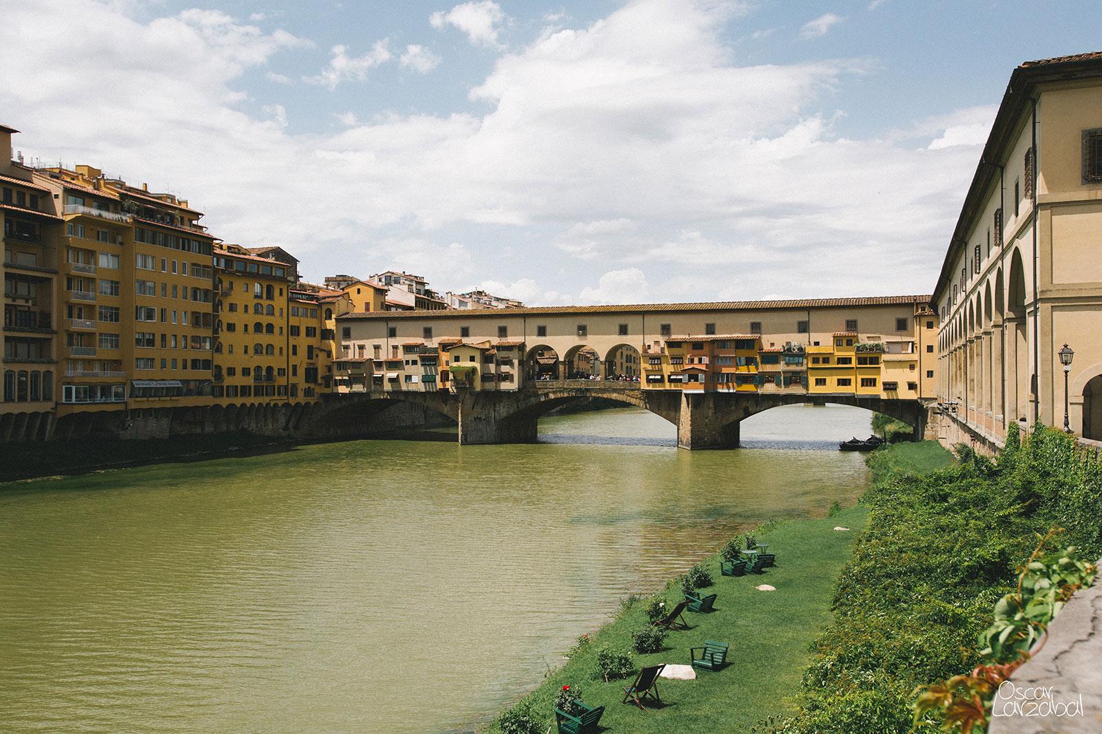Florencia Italia Ponte Vecchio